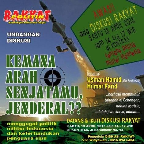 Diskusi Rakyat Edisi April